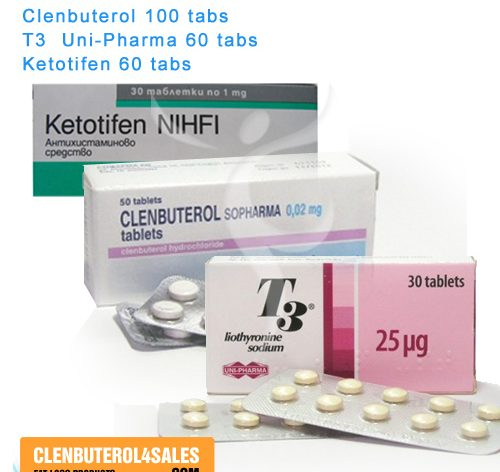 Clenbuterol T3 Cytomel Ketotifen Cycle