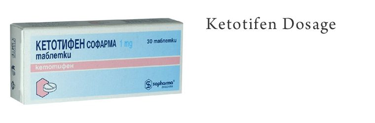 Ketotifen Dosering